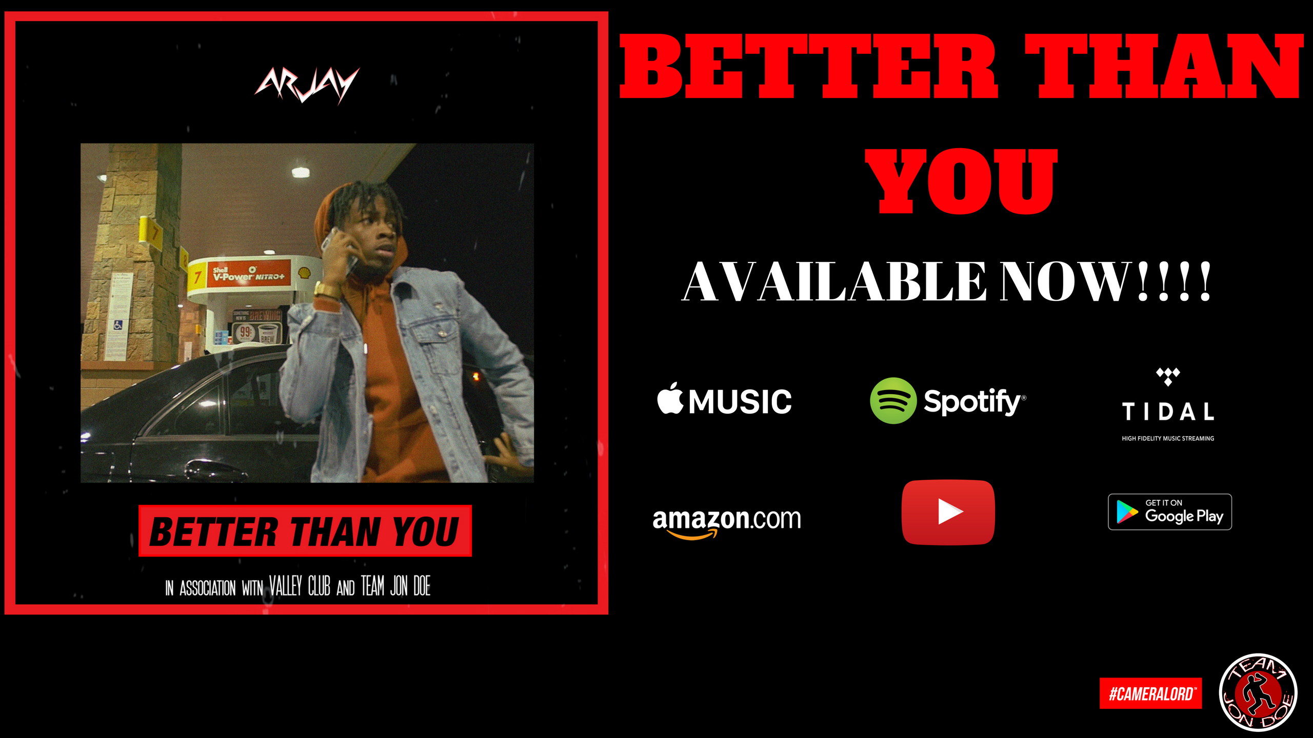 "Arjay Soul New Single ""Better Than You"" Out Now…….."